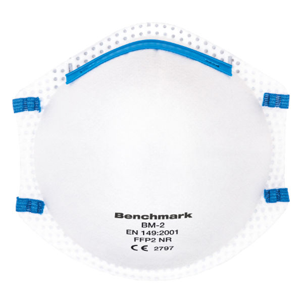 Picture of Benchmark BM2 P2-FFP2 Cup-Shaped Non Reusable x 20