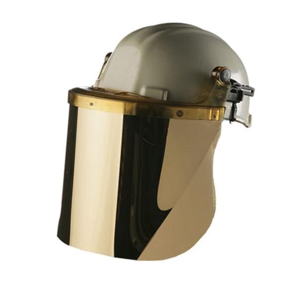 Picture of Centurion Polycarbonate Gold Face Visor