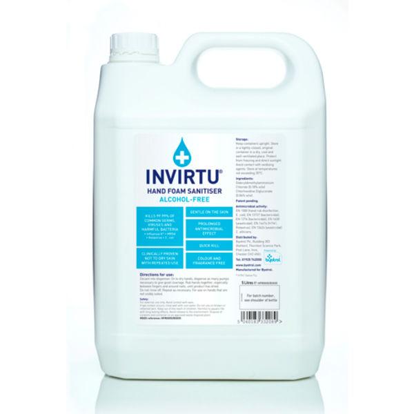 Picture of Invirtu Hand Foam Sanitiser (2x5ltr)