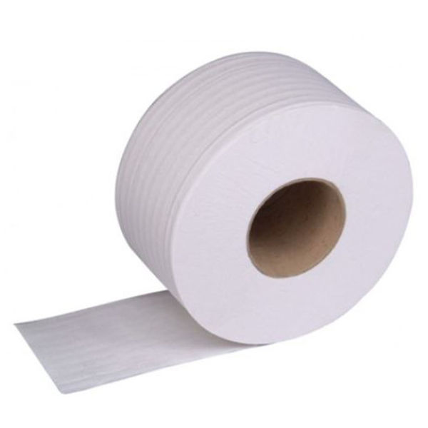 Picture of 2ply contract mini jumbo toilet rolls White
