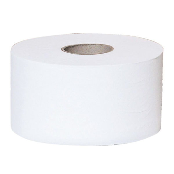 Picture of 2 ply mini jumbo toilet rolls White 3 inch core